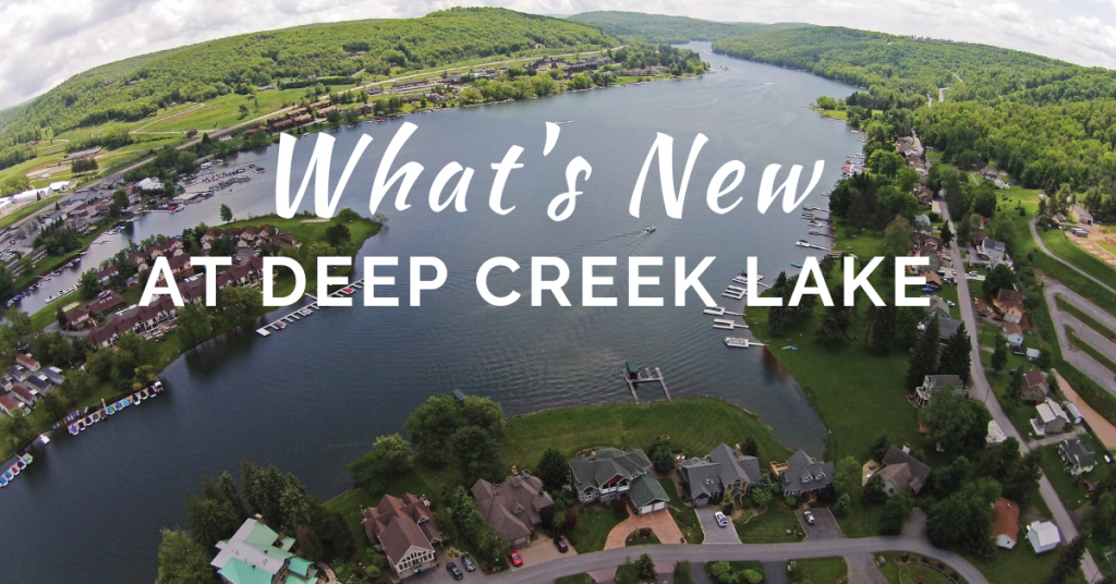 new at deep creek lake
