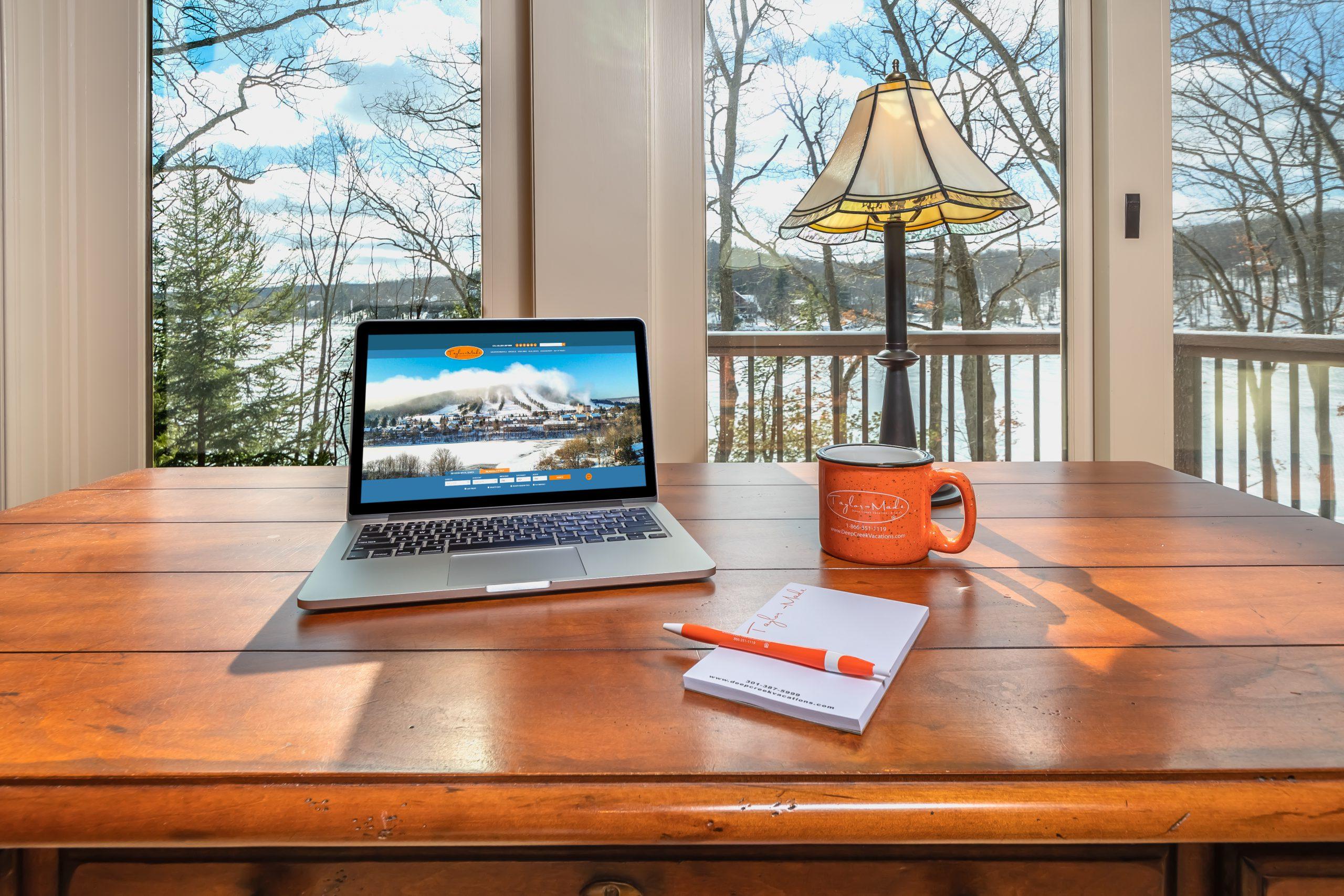 vacation rental workspaces
